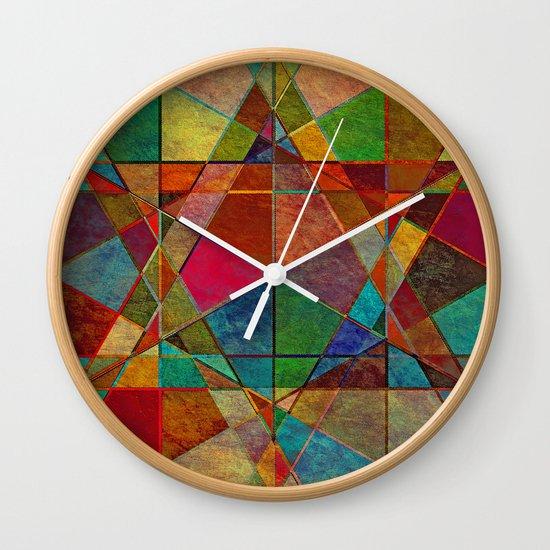 The Beauty of Geometry 5 Wall Clock