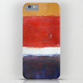 Mark Rothko Interpretation Acrylics On Paper iPhone Case