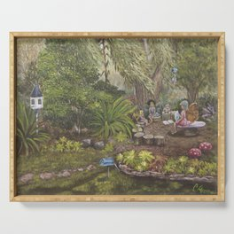 Faerie Garden Letters Serving Tray