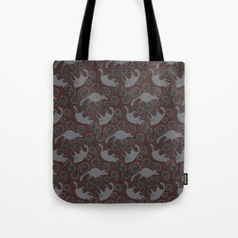 Raccoon Roundabout  Tote Bag