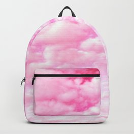 Pink cotton Candy Sky Backpack