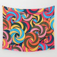 yetiland Wall Tapestries featuring Keep It Healthy by Danny Ivan