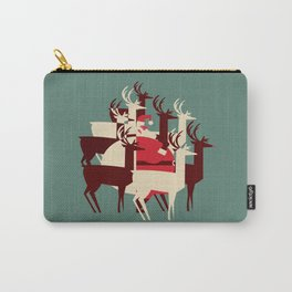 Deer Santa Carry-All Pouch