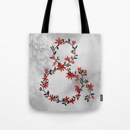 Floral Ampersand Tote Bag