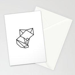 Tiny Origami Fox Stationery Cards