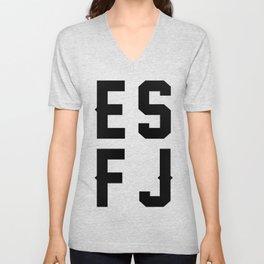 ESFJ Unisex V-Neck