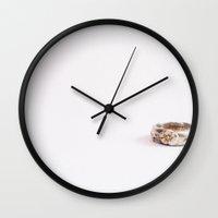tiffany Wall Clocks featuring Tiffany by Christine Leanne