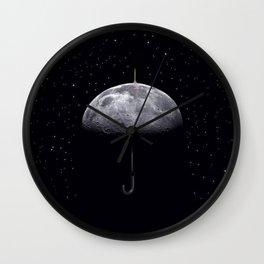 Moonbrella Wall Clock