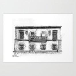 Aduana Ducal Art Print