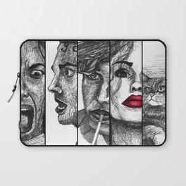 Film Noir Collage Laptop Sleeve