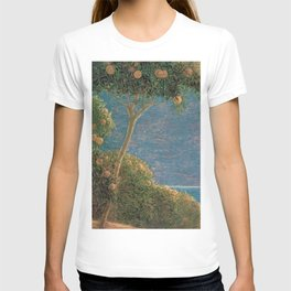 Classical masterpiece Sunset in Liguria by Geotano Previati, 1912 T-shirt