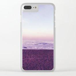 Lavender Skies Clear iPhone Case