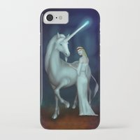 unicorn iPhone & iPod Cases featuring Unicorn by Egberto Fuentes
