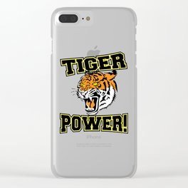 Tiger Power Clear iPhone Case