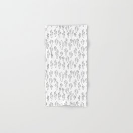 Cactus in White Palette Hand & Bath Towel