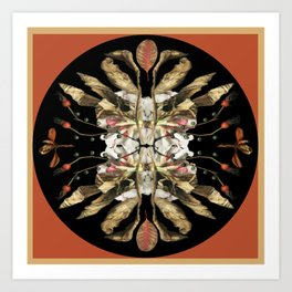 Winter Viburnum Art Print