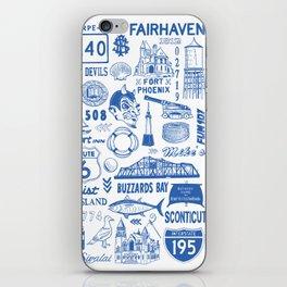 Fairhaven Massachusetts Print iPhone Skin