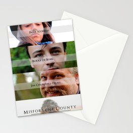 Misfortune County Poster Stationery Cards