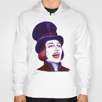 willy wonka Hoodies featuring Wonka by Indigo East by ieIndigoEast