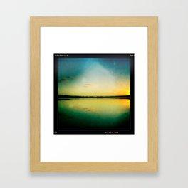 Above:Below Framed Art Print