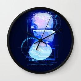 Cyber Wall Clock