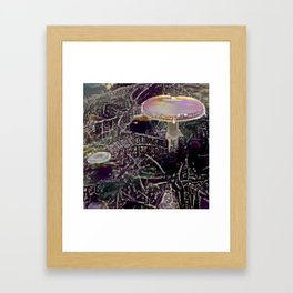 Amanita and Another Framed Art Print