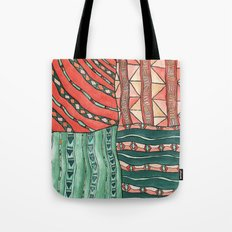 Patterned Piece #1 Tote Bag