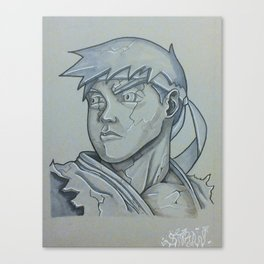 ryu stone Canvas Print