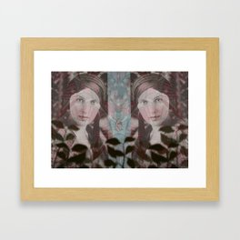 Lady Evangeline Framed Art Print
