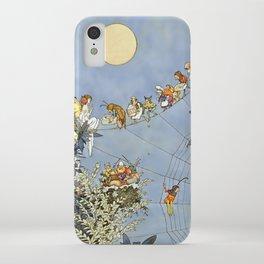 """The Fairy's Birthday"" Illustration by W Heath Robinson iPhone Case"