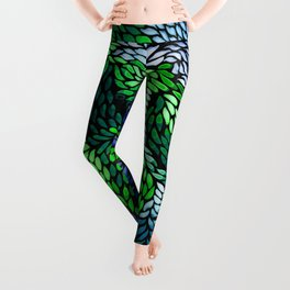 The night in the fruit forest Leggings