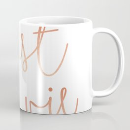 C'est la vie Rose Gold #society6 #decor #buyart Coffee Mug
