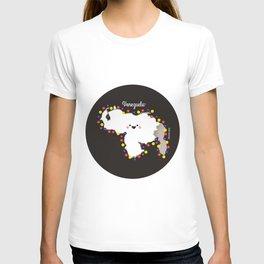 Venezuela en flor T-shirt