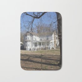 Cherokee Nation - The Ivy-Duncan-Dannenburg Home, built in 1874 Bath Mat