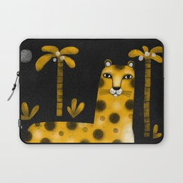 LOUNGING LEOPARD Laptop Sleeve
