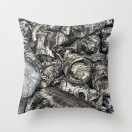 Winter Provisions Throw Pillow