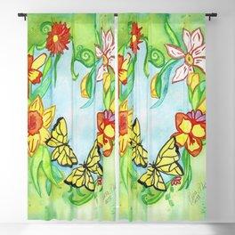 Spring Heart Blackout Curtain