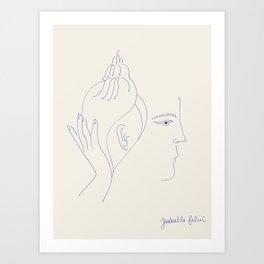 Strange Sounds Art Print
