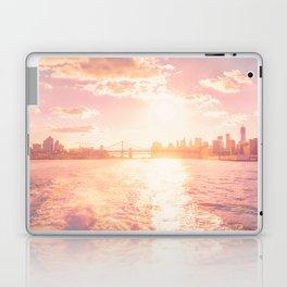 New York City Skyline Sunset Laptop & iPad Skin