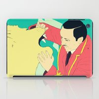 circus iPad Cases featuring Circus by ministryofpixel