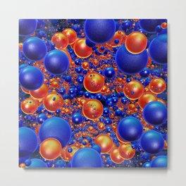 Shiny 3D balls Metal Print