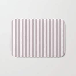 Annas Song soft dusty rose Stripes Bath Mat
