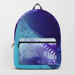 Grape and Deep Blue Smear Backpack