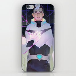 Black Paladin iPhone Skin