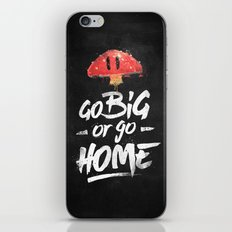 Go Big or Go Home Mario Inspired Smash Art iPhone & iPod Skin