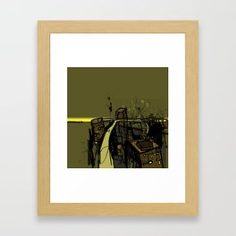 Flyover Framed Art Print