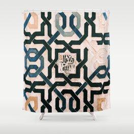 Alhambra Tiles. Shower Curtain
