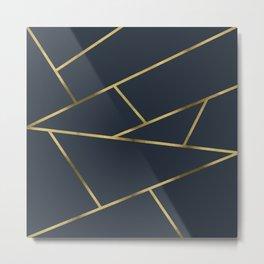 Copper and Midnight Navy #society6 #decor #buyart #artprint Metal Print