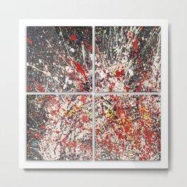 Trezzo - quadriptych Metal Print