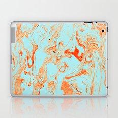 Flamingo + Sea Marble #society6 #decor #buyart Laptop & iPad Skin